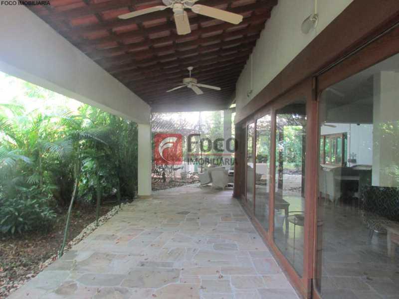 IMG_6716 Copy - Casa à venda Rua Ministro Artur Ribeiro,Jardim Botânico, Rio de Janeiro - R$ 10.500.000 - JBCA70003 - 11