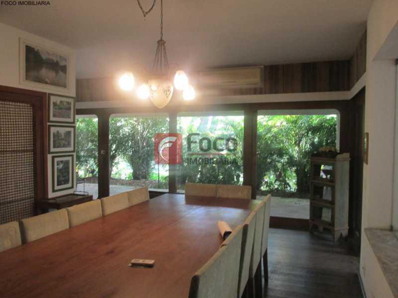 IMG_6731 Copy - Casa à venda Rua Ministro Artur Ribeiro,Jardim Botânico, Rio de Janeiro - R$ 10.500.000 - JBCA70003 - 1
