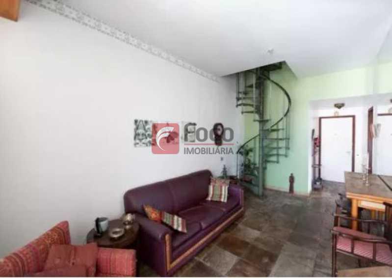 Sala 1 - NO CORAÇÃO DO LEBLON!!!! VISTA LIVRE!! SOL DA MANHÃ!!! VENHA CONFERIR!!! - JBCO30164 - 3