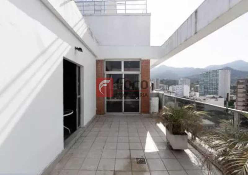 Terraço 1 - NO CORAÇÃO DO LEBLON!!!! VISTA LIVRE!! SOL DA MANHÃ!!! VENHA CONFERIR!!! - JBCO30164 - 7