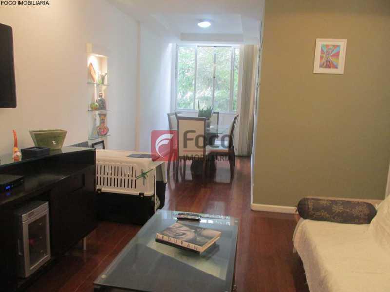 SALA - Apartamento à venda Rua do Humaitá,Humaitá, Rio de Janeiro - R$ 949.000 - JBAP20995 - 4
