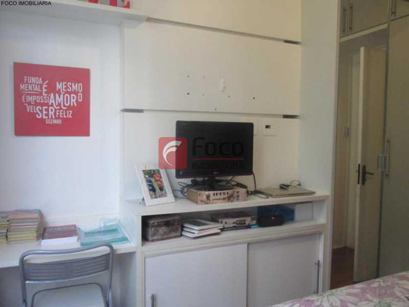 QUARTO - Apartamento à venda Rua do Humaitá,Humaitá, Rio de Janeiro - R$ 949.000 - JBAP20995 - 15
