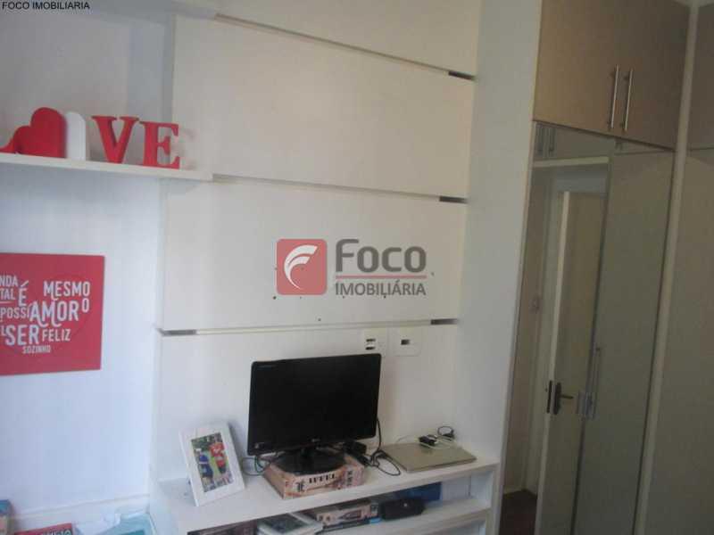 QUARTO - Apartamento à venda Rua do Humaitá,Humaitá, Rio de Janeiro - R$ 949.000 - JBAP20995 - 17