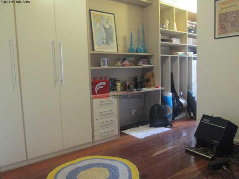 QUARTO - Apartamento à venda Rua do Humaitá,Humaitá, Rio de Janeiro - R$ 949.000 - JBAP20995 - 19