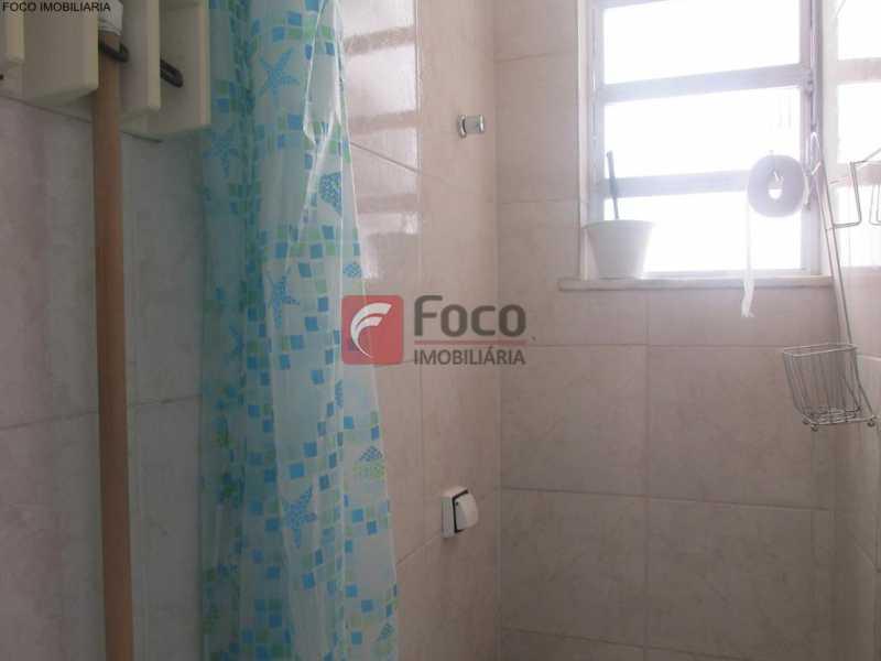 BANHEIRO DE SERVIÇO - Apartamento à venda Rua do Humaitá,Humaitá, Rio de Janeiro - R$ 949.000 - JBAP20995 - 29
