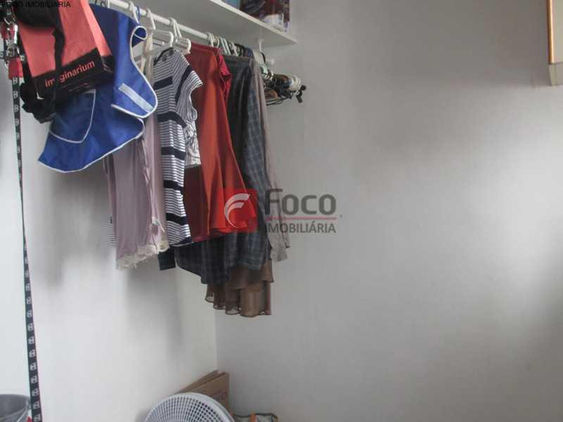 QUARTO DE EMPREGADA - Apartamento à venda Rua do Humaitá,Humaitá, Rio de Janeiro - R$ 949.000 - JBAP20995 - 30