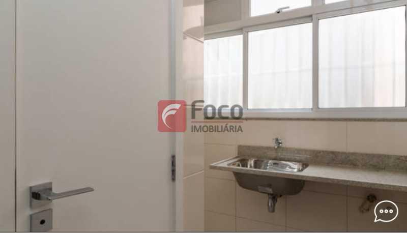 Área de serviço - Apartamento à venda Rua Conde Bernadotte,Leblon, Rio de Janeiro - R$ 1.250.000 - JBAP21003 - 21