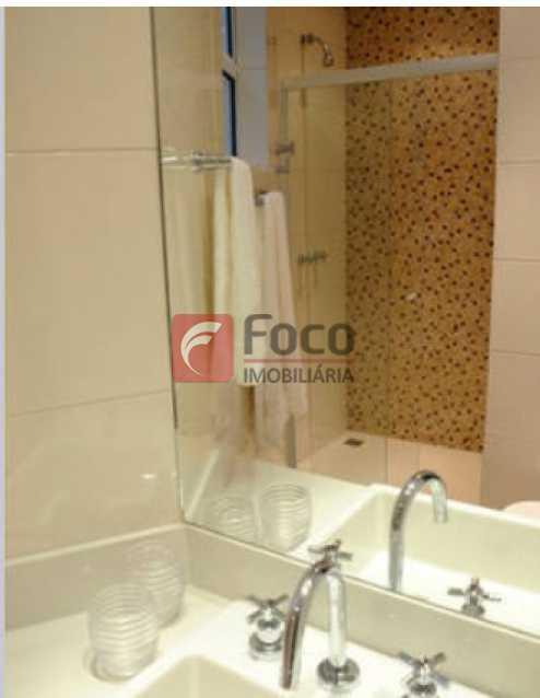 Banheiro 1 - Apartamento à venda Rua Conde Bernadotte,Leblon, Rio de Janeiro - R$ 1.250.000 - JBAP21003 - 12