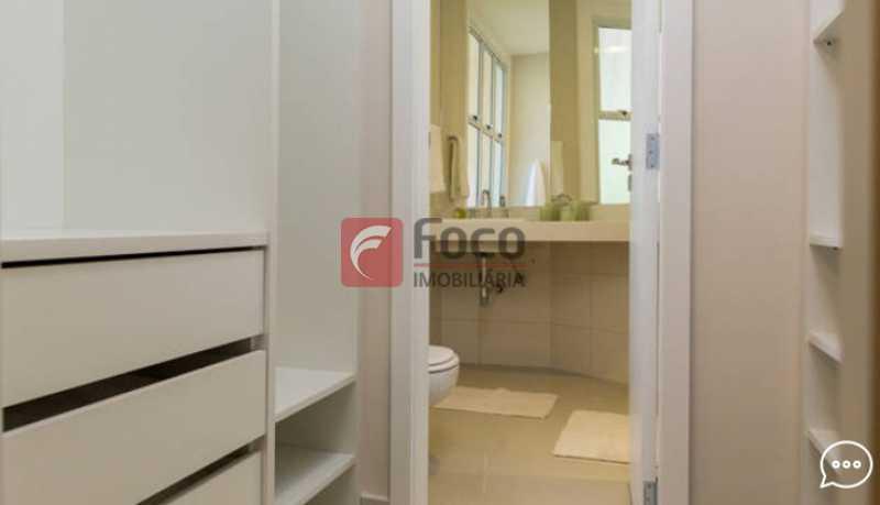 closet S 1 - Apartamento à venda Rua Conde Bernadotte,Leblon, Rio de Janeiro - R$ 1.250.000 - JBAP21003 - 11