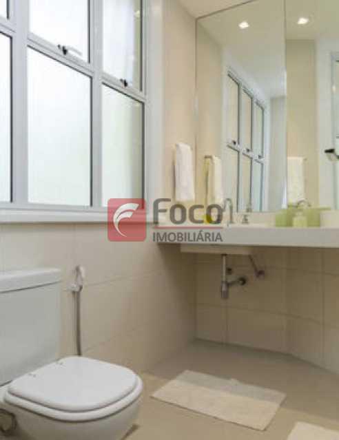 Banheiro 2 - Apartamento à venda Rua Conde Bernadotte,Leblon, Rio de Janeiro - R$ 1.250.000 - JBAP21003 - 24