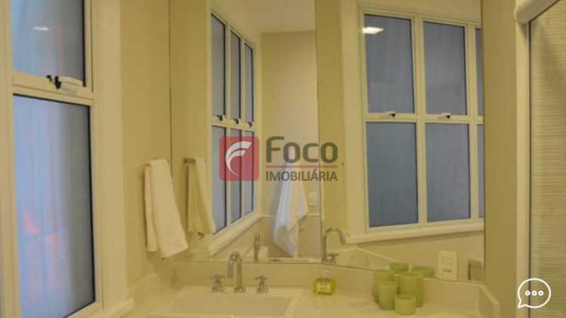 Banheiro 2 - Apartamento à venda Rua Conde Bernadotte,Leblon, Rio de Janeiro - R$ 1.250.000 - JBAP21003 - 26