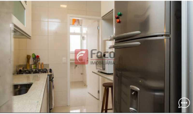 Cozinha  - Apartamento à venda Rua Conde Bernadotte,Leblon, Rio de Janeiro - R$ 1.250.000 - JBAP21003 - 18