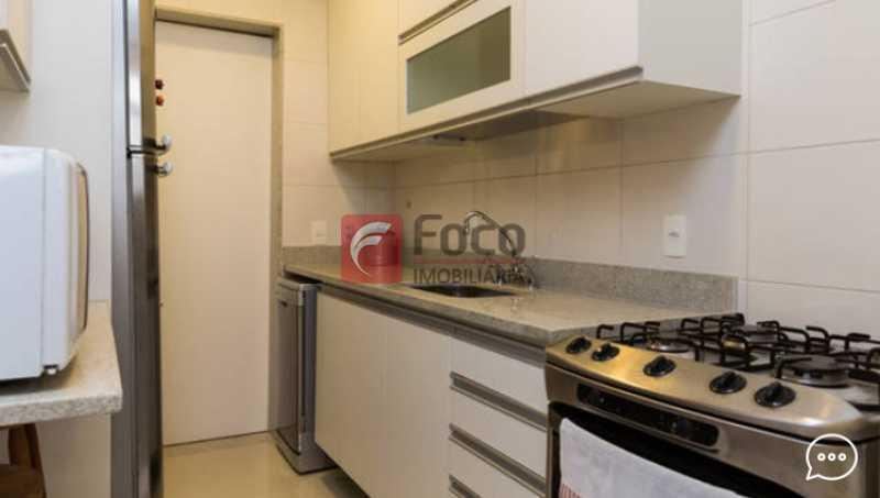 Cozinha  - Apartamento à venda Rua Conde Bernadotte,Leblon, Rio de Janeiro - R$ 1.250.000 - JBAP21003 - 19