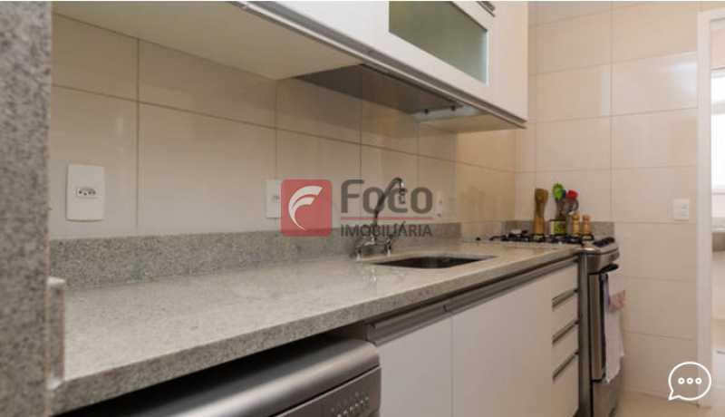 Cozinha  - Apartamento à venda Rua Conde Bernadotte,Leblon, Rio de Janeiro - R$ 1.250.000 - JBAP21003 - 20
