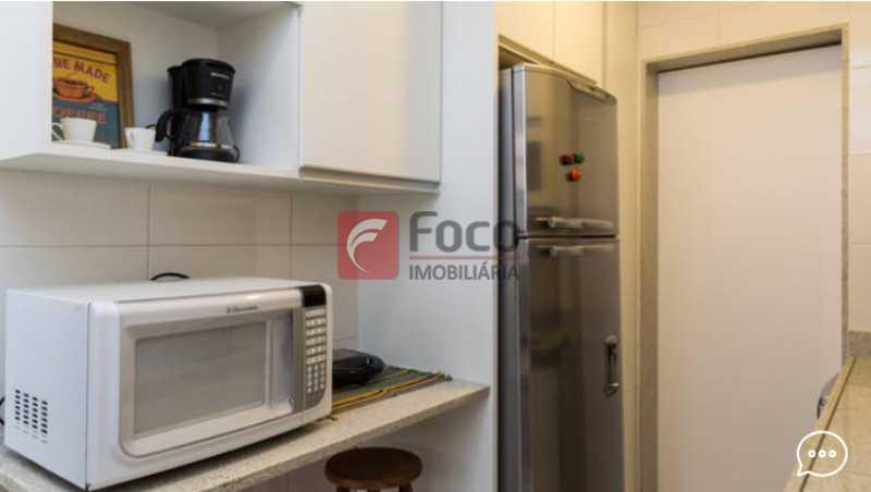 Cozinha  - Apartamento à venda Rua Conde Bernadotte,Leblon, Rio de Janeiro - R$ 1.250.000 - JBAP21003 - 29