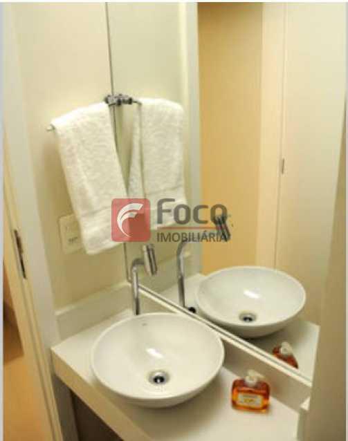 Lavabo 1 - Apartamento à venda Rua Conde Bernadotte,Leblon, Rio de Janeiro - R$ 1.250.000 - JBAP21003 - 27