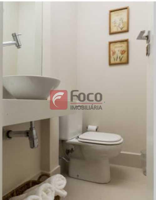 Lavabo 2 - Apartamento à venda Rua Conde Bernadotte,Leblon, Rio de Janeiro - R$ 1.250.000 - JBAP21003 - 28