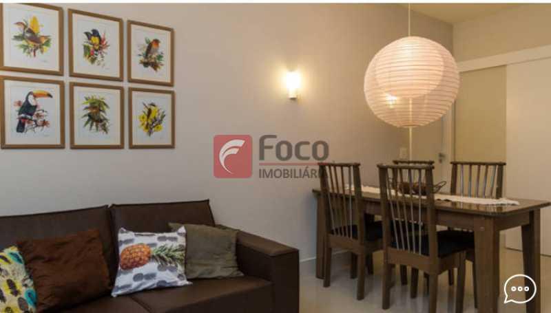Living 1 - Apartamento à venda Rua Conde Bernadotte,Leblon, Rio de Janeiro - R$ 1.250.000 - JBAP21003 - 3