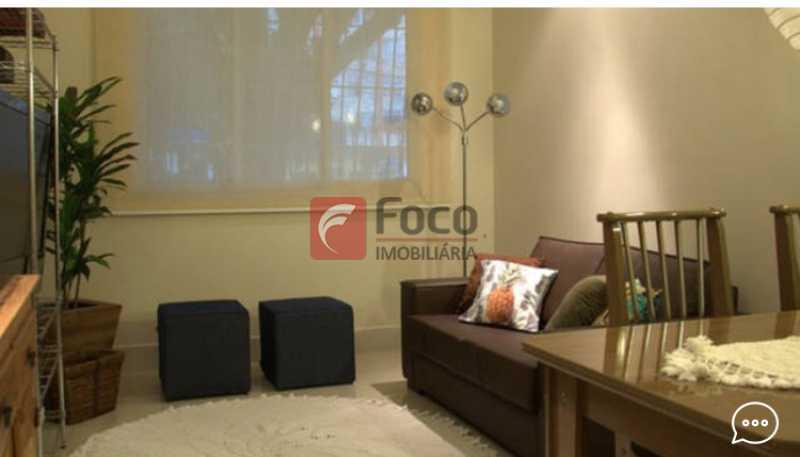 Living 2 - Apartamento à venda Rua Conde Bernadotte,Leblon, Rio de Janeiro - R$ 1.250.000 - JBAP21003 - 4