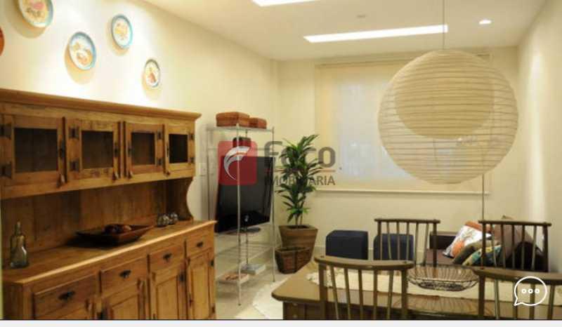 Living 3 - Apartamento à venda Rua Conde Bernadotte,Leblon, Rio de Janeiro - R$ 1.250.000 - JBAP21003 - 1