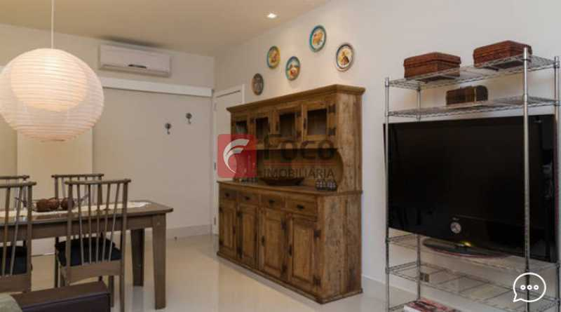 Living 6 - Apartamento à venda Rua Conde Bernadotte,Leblon, Rio de Janeiro - R$ 1.250.000 - JBAP21003 - 6