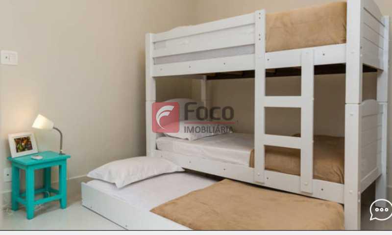 Suite  2 - Apartamento à venda Rua Conde Bernadotte,Leblon, Rio de Janeiro - R$ 1.250.000 - JBAP21003 - 15