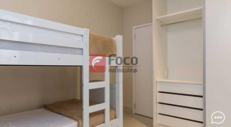 Suite 2 - Apartamento à venda Rua Conde Bernadotte,Leblon, Rio de Janeiro - R$ 1.250.000 - JBAP21003 - 16