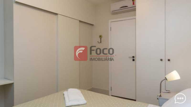 Suite  1 - Apartamento à venda Rua Conde Bernadotte,Leblon, Rio de Janeiro - R$ 1.250.000 - JBAP21003 - 8