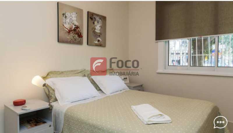 Suite  1 - Apartamento à venda Rua Conde Bernadotte,Leblon, Rio de Janeiro - R$ 1.250.000 - JBAP21003 - 9