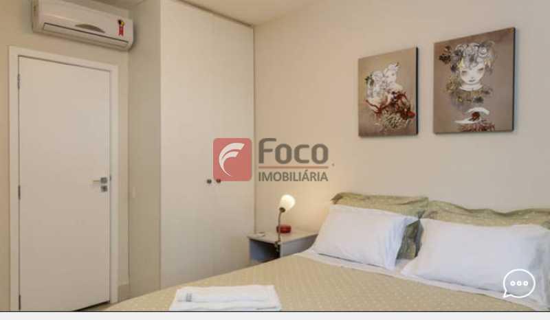 Suite 1 - Apartamento à venda Rua Conde Bernadotte,Leblon, Rio de Janeiro - R$ 1.250.000 - JBAP21003 - 10
