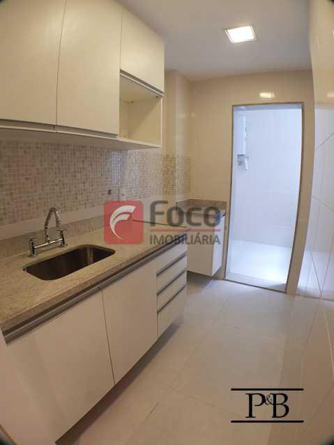 Cozinha - Apartamento 2 quartos à venda Leblon, Rio de Janeiro - R$ 1.250.000 - JBAP21004 - 13