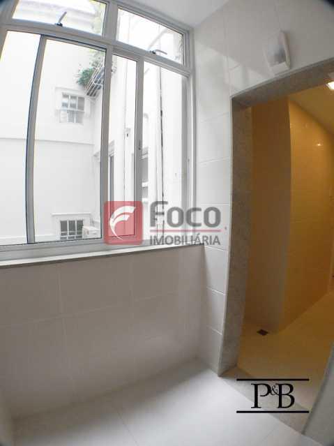 Área - Apartamento 2 quartos à venda Leblon, Rio de Janeiro - R$ 1.250.000 - JBAP21004 - 15