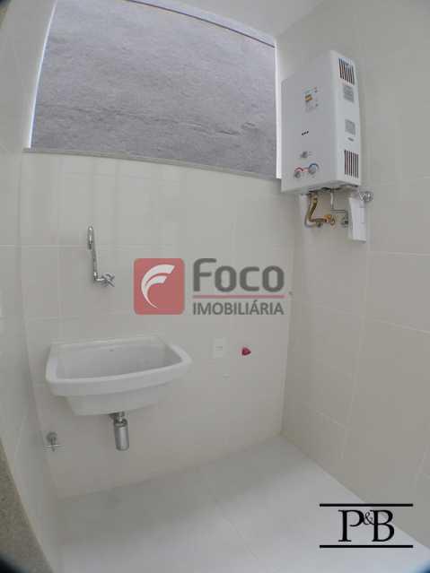 Área - Apartamento 2 quartos à venda Leblon, Rio de Janeiro - R$ 1.250.000 - JBAP21005 - 18