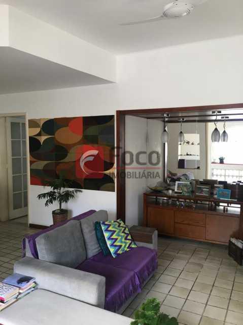 Sala - Apartamento à venda Rua J. J. Seabra,Lagoa, Rio de Janeiro - R$ 845.000 - JBAP21018 - 1