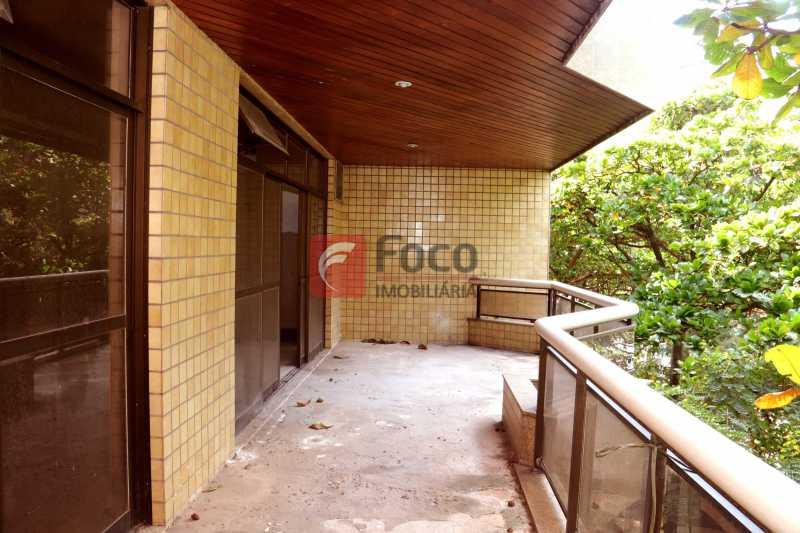 Varanda - Cobertura 4 quartos à venda Laranjeiras, Rio de Janeiro - R$ 2.800.000 - JBCO40082 - 3