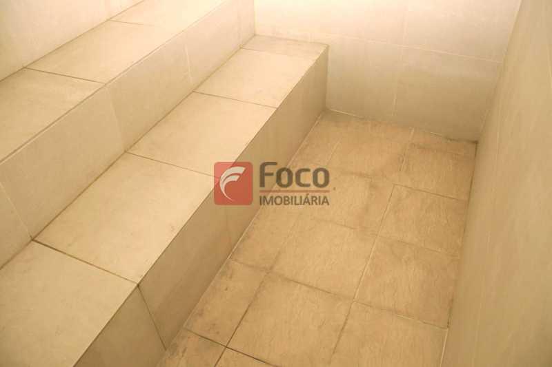Sauna - Cobertura 4 quartos à venda Laranjeiras, Rio de Janeiro - R$ 2.800.000 - JBCO40082 - 29