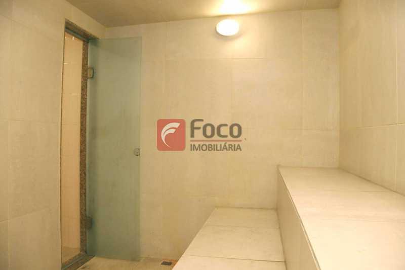 Sauna - Cobertura 4 quartos à venda Laranjeiras, Rio de Janeiro - R$ 2.800.000 - JBCO40082 - 30