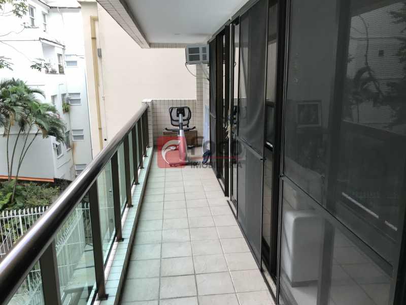 Varanda - Apartamento à venda Rua Marquês de São Vicente,Gávea, Rio de Janeiro - R$ 1.950.000 - JBAP31329 - 1