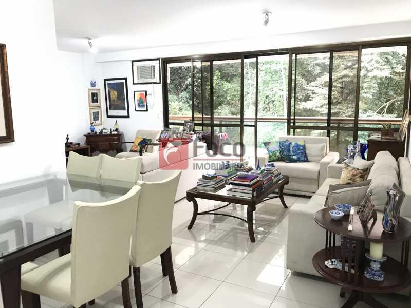 Sala - Apartamento à venda Rua Marquês de São Vicente,Gávea, Rio de Janeiro - R$ 1.950.000 - JBAP31329 - 3