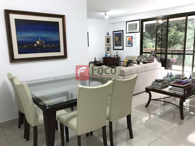 Sala - Apartamento à venda Rua Marquês de São Vicente,Gávea, Rio de Janeiro - R$ 1.950.000 - JBAP31329 - 7