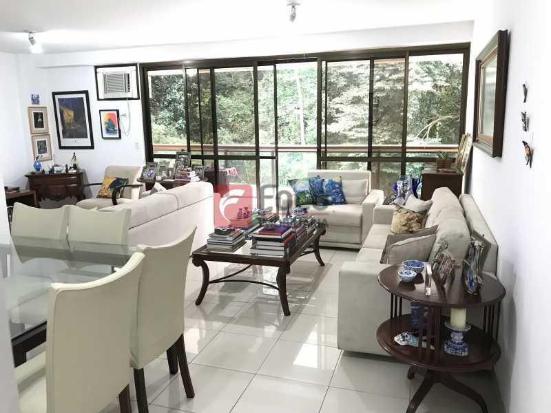 Sala - Apartamento à venda Rua Marquês de São Vicente,Gávea, Rio de Janeiro - R$ 1.950.000 - JBAP31329 - 4