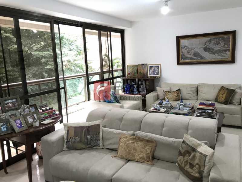 Sala - Apartamento à venda Rua Marquês de São Vicente,Gávea, Rio de Janeiro - R$ 1.950.000 - JBAP31329 - 5