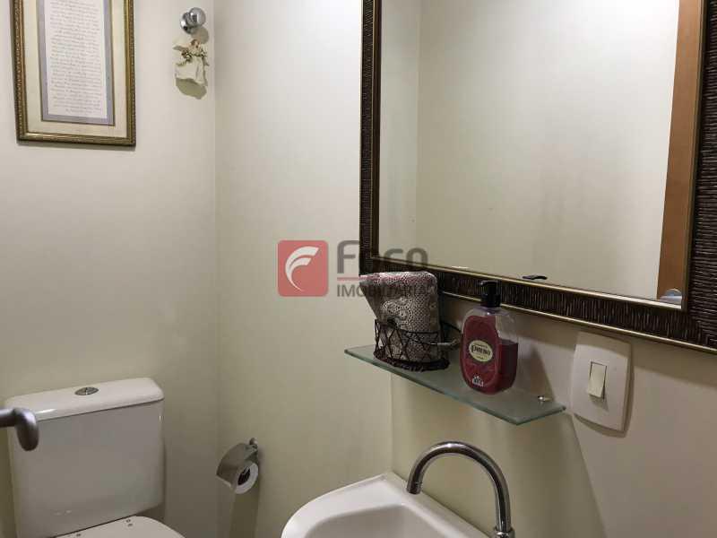 Lavabo - Apartamento à venda Rua Marquês de São Vicente,Gávea, Rio de Janeiro - R$ 1.950.000 - JBAP31329 - 9
