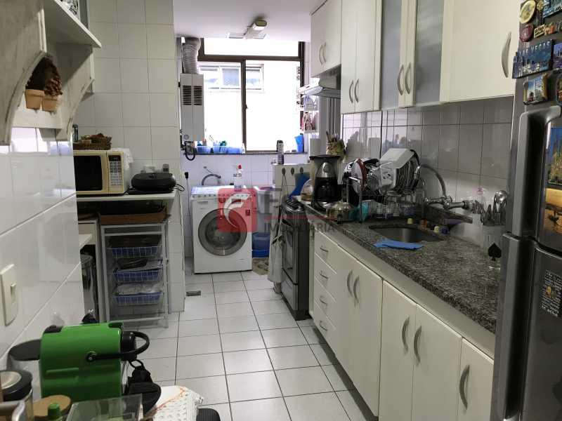 Cozinha - Apartamento à venda Rua Marquês de São Vicente,Gávea, Rio de Janeiro - R$ 1.950.000 - JBAP31329 - 20