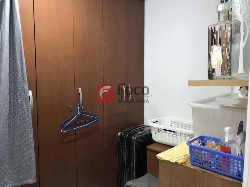 Dependência - Apartamento à venda Rua Marquês de São Vicente,Gávea, Rio de Janeiro - R$ 1.950.000 - JBAP31329 - 26