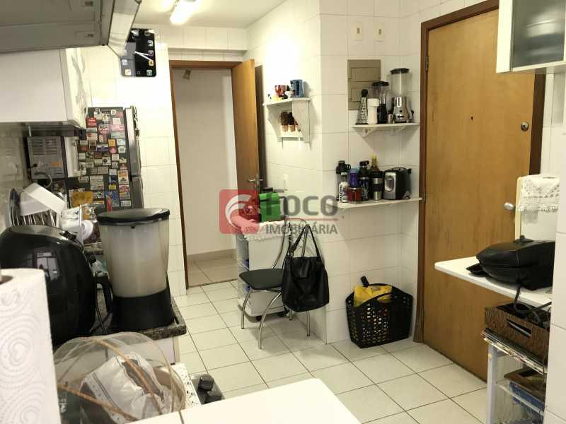 cozinha - Apartamento à venda Rua Marquês de São Vicente,Gávea, Rio de Janeiro - R$ 1.950.000 - JBAP31329 - 22