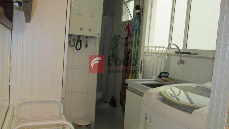 área de serviço - Apartamento À Venda - Humaitá - Rio de Janeiro - RJ - JBAP21033 - 19