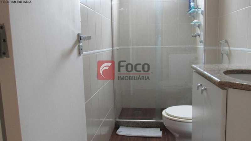 banheiro social - Apartamento À Venda - Humaitá - Rio de Janeiro - RJ - JBAP21033 - 14