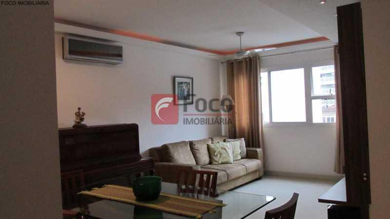 sala - Apartamento À Venda - Humaitá - Rio de Janeiro - RJ - JBAP21033 - 1