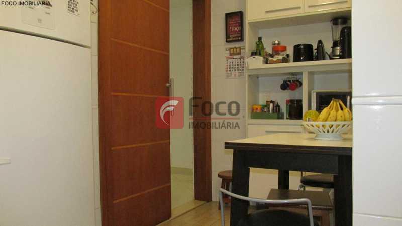 cozinha - Apartamento À Venda - Humaitá - Rio de Janeiro - RJ - JBAP21033 - 20